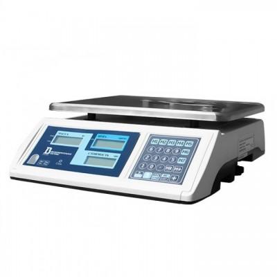 Весы настольные для торговли на 30 кг электронные 30ВП1-Т